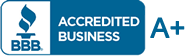 Better Business Bureau member with A+ rating